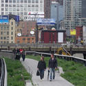 High Line Trail in New York City