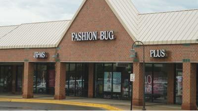 The Fashion Bug clothing chain's Petoskey store location is seen Monday.