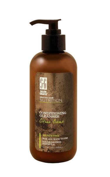 Brittle, dry and chemically-damaged hair will benefit from Salon Grafix's new Healthy Hair Nutrition Conditioning Cleanser. The sulfate- and lather-free shampoo gently cleans hair without stripping natural oils. Use Intensive Hair Repair Masque to deep condition once a week.  Available: $6.99 each at drugstores