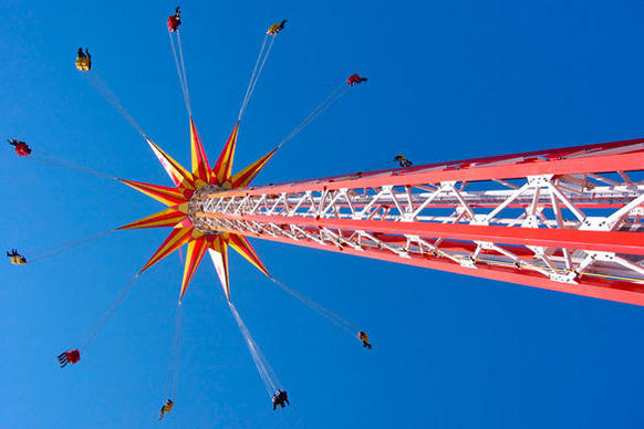 The once-famed Steel Pier on the long-faded Atlantic City Boardwalk will invest more than $100 million on new entertainment venues and amusement rides, including a 385-foot-tall Funtime Star Flyer dubbed the tall