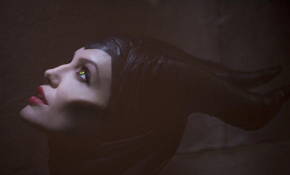 "Angelina Jolie stars in the Walt Disney Studios movie ""Maleficent,"" which recently began filming in London."