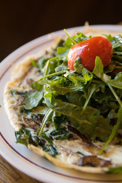 Vegetable frittata at Davanti Enoteca