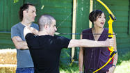 Photos: RedEye's Matt Pais shoots archery with 'Brave' director and producer