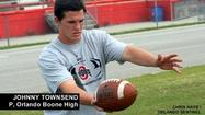 Orlando Boone punter Johnny Townsend commits to Ohio State, Urban Meyer