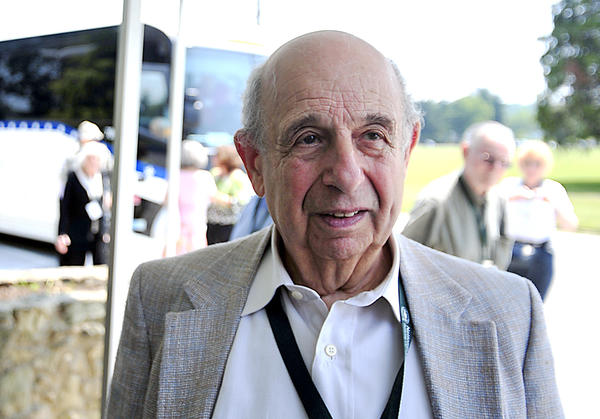 Guy Stern of West Bloomfield, Mich., shares his story of being a 'Ritchie Boy' during World War II at Camp Ritchie.