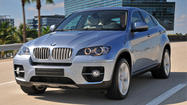 The BMW ActiveHybrid X6