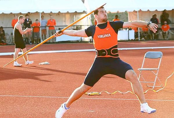 Whitehall High School graduate Andy Fahringer, now at the University of Virginia. This photo is from the 2011 summer USA Nationals in Eugene, Oregon.