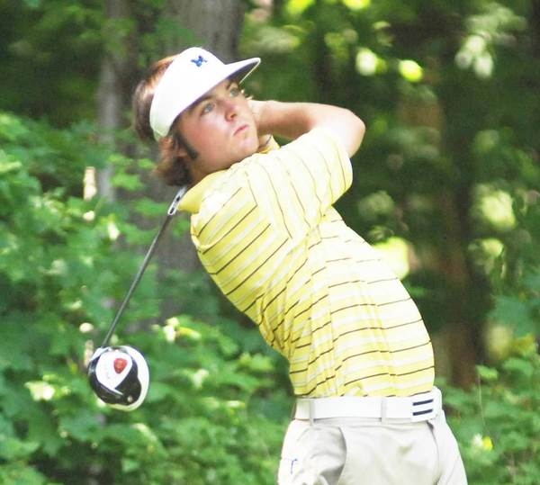 Joey Garber was scheduled to open match play today, Wednesday, in the Michigan Amateur golf tournament at Oakland Hills Country Club in suburban Detroit against Kasey Hocquard of Cheboygan.