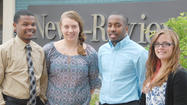 The Petoskey News-Review has several new faces this summer with four interns and a part-time employee.