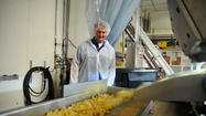 Every day about 10,000 cases of snacks leave the Snyder of Berlin plant and travel around the country.