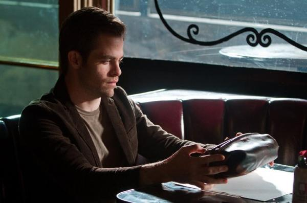 "Chris Pine in ""People Like Us."""