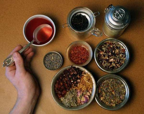 Tea at Tazo's tasting lab in Portland, Ore. Starbucks Corp. said Wednesday that it is planning to open its first tea shop under its Tazo brand.