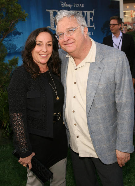 Musical artist Randy Newman and wife Gretchen Preece.