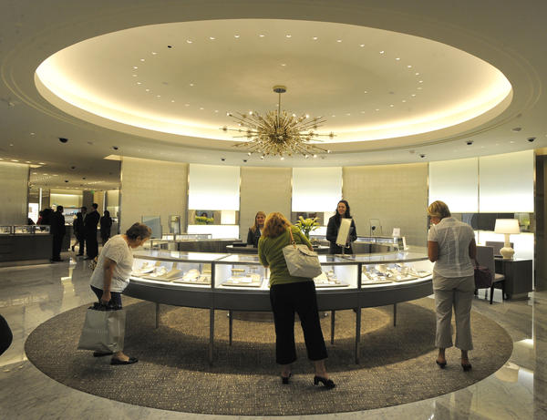In the fall of 2010, the New York-based jeweler Tiffany & Co.  joined Towson Town Center's luxury wing.