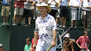 As the Travelers Championship Celebrity Pro-Am day was underway at TPC River Highlands Wednesday morning, defending Fredrik Jacobson was arriving.
