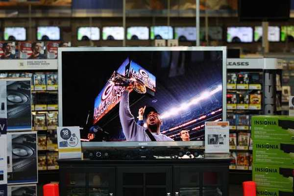 TV shipments decline