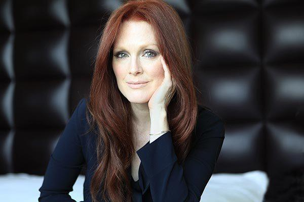 Celebrity portraits by The Times: Julianne Moore is always on the top of filmmakers lists for juicy roles. Playing Sarah Palin on HBOs Game Change, at first, seemed like a strange choice, though.  MORE: Julianne Moore, the get star | Julianne Moore gets inside Sarah Palins skin for Game Change