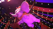 "The new doubled-up Dumbo the Flying Elephant ride has entered the ""soft opening"" stage at Magic Kingdom. For the first time, both of the side-by-side, up-and-down carousels, were operated with guests on board Wednesday."