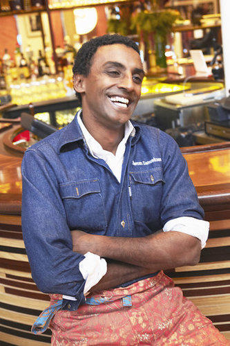 Chef Marcus Samuelsson says that the most amazing meal he has ever eaten was in a tiny restaurant in Tokyo.