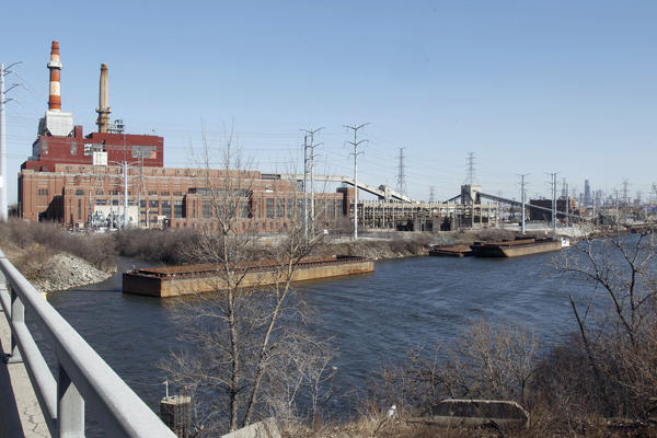 Midwest Generation's Crawford Generating Station, a coal-fired power plant in Chicago. EPA regulations adopted in December restrict coal plants' emission of mercury and other toxic chemicals, which have been found to be a significant health hazard.