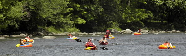 "Take your pick: kayaking, canoeing, white-water rafting, and it's all in the lushness of Litchfield County on the Housatonic River. Clarke Outdoors, a family operation at 163 Route 7, West Cornwall, has all you'll need.  Information: 860-672-6365 and <a href=""http://www.clarkeoutdoors.com/"">clarkeoutdoors.com.</a>"