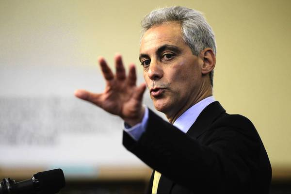 "Mayor Rahm Emanuel has said he supports putting the electrical aggregation issue on the Nov. 6 ballot. ""Buying in bulk can save homeowners and residents money,"" he said."