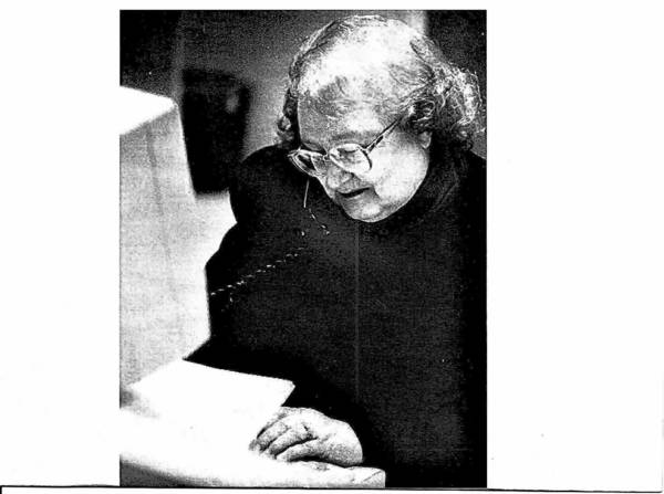 "Longtime Winfield journalsit Alyce Bartlett had written ""Neighbors' News"" for the Winfield Post since 2009."