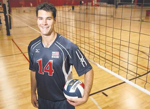 Kevin Hansen, a Corona del Mar High graduate, was on the U.S. men's volleyball team that won the gold medal at the 2008 Olympics.