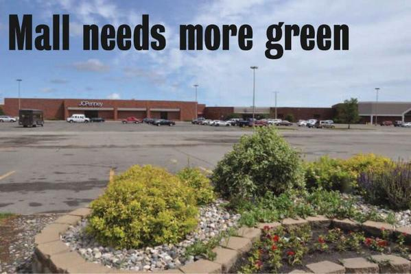 Lakewood Mall would need to add more landscaping to its parking lot before the city approves an application for a remodeling project at Maurices clothing store. American News Photo by Anita Meyer