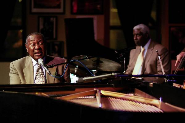 Singer-pianist Freddy Cole.