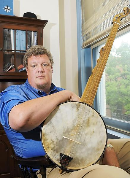 Banjo expert George Wunderlich made this reproduction of an 1840 Boucher, named for a Baltimore banjo maker.