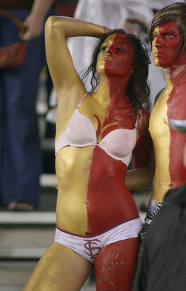Photos: Florida State football fans and cheerleaders - Seminoles fan