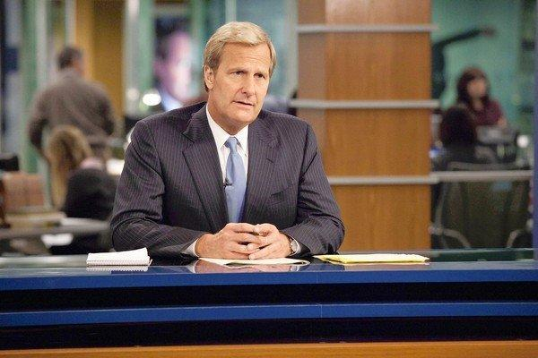 "Jeff Daniels plays Will McAvoy, anchor of a cable news show, on HBO's ""The Newsroom."""