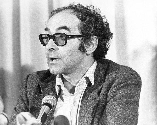 Jean Luc Godard in the 1970s.