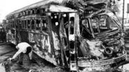 Flashback: Green Hornet streetcar accident