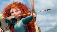 'Brave' Movie review by Kenneth Turan.
