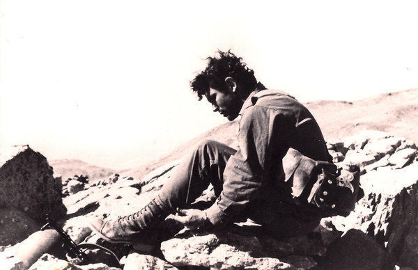 A pause in battle, Mt. Hermon, Yom Kippur War, October 1973
