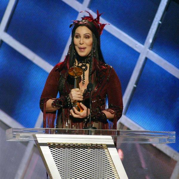"Cher dropped the F-bomb during the 2002 Billboard Music Awards  while receiving a special Artist Achievement award, saying, ""People have been telling me I'm on the way out every year, right. So, … 'em."" The FCC, perhaps also offended by her outfit, was not amused."