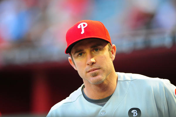"Philadelphia Phillies second baseman Chase Utley reminded us all why there are no microphones on the field, after he called out,  ""World … champions!"" at the 2008 World Series parade. The offending expletive was broadcast live on several Philadelphia TV stations."