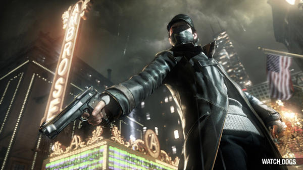"The name of the Chicago Theatre has been changed to the Ambrose for the Chicago-based video game ""Watch Dogs."""
