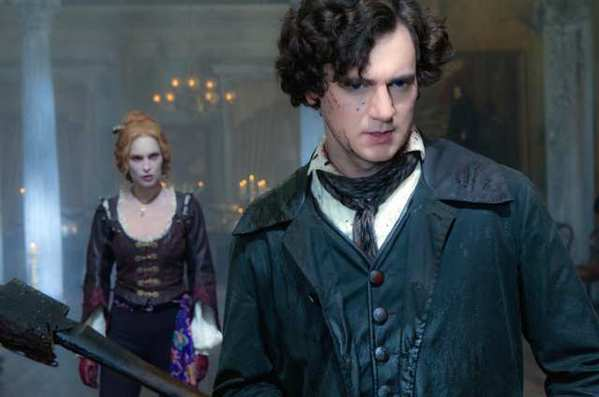 "Benjamin Walker (front) as Abraham Lincoln in ""Abraham Lincoln: Vampire Hunter."""