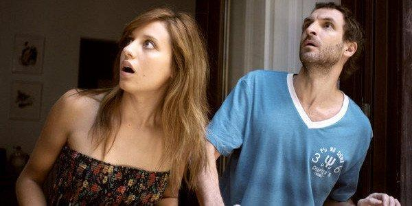 """Michelle Jenner and Julian Villagran in a scene from """"Extraterrestrial."""""""