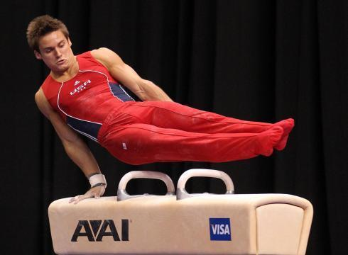 Sam Mikulak, a Corona del Mar High alum, finished third at the Visa Men's Senior U.S. Championships.
