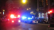 Shooting at Michigan Avenue and Ontario Street