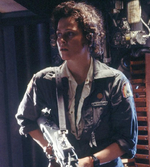"<b>Rambunctious role: </b>Ripley was an apt name for Weaver in the ""Alien"" movies, as she was a ripped, gun-totin', alien slayer. <BR><BR>  <b>Rough Resume: </b>Is Sigourney ever not kick-butt? From ""Ghostbusters"" to ""Avatar,"" we don't think so."