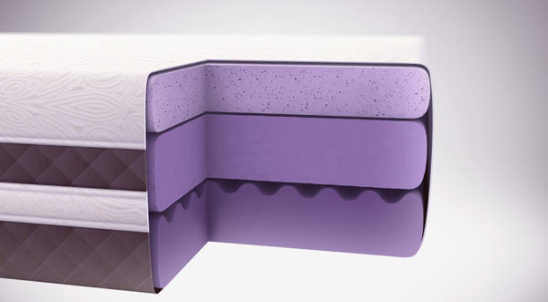 The Optimum by Sealy mixes gel and memory foam.