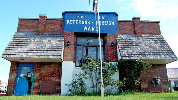 The VFW Hall in Gaylord