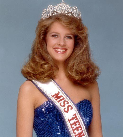 "Cherise Haugen won as Miss Teen USA Illinois. Following her victory she went to work as a model in Chicago and had one small acting role in the Michael J. Fox and Joan Jett movie ""Light of Day.""<br><br>  <b>Fun fact</b>: The 1984 Miss Teen USA pageant was held only 8 months after 1983's so many states hadn't had their 1984 pageant. Thus, contestants were made up of ""winners and runner-ups."""