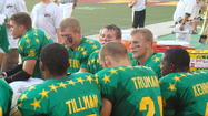 One more time: Durbin does Shrine Bowl before playing hoops
