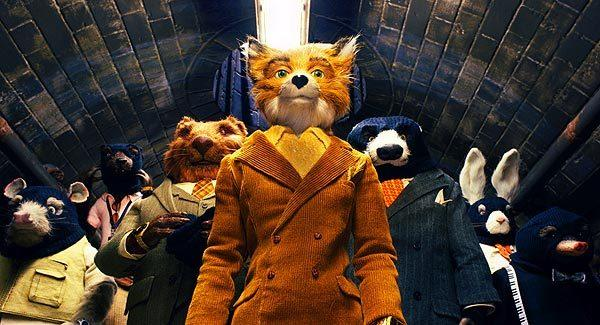 "Mr. Fox (George Clooney) and friends in ""Fantastic Mr. Fox."""